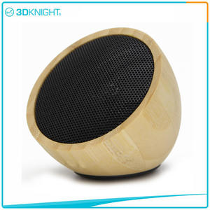 Wholesale Wood Speaker factory Mini Wood Speaker
