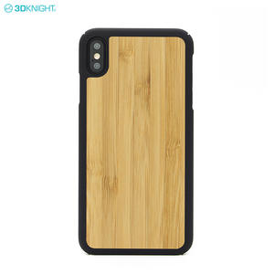 New Product Real Bamboo Wood Mobile Phones Cover Case For IPhone XS Max
