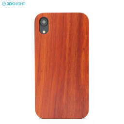 Custom Engraving Logo Natural Rose Wood Smart Cell Phone Case for iphone XR