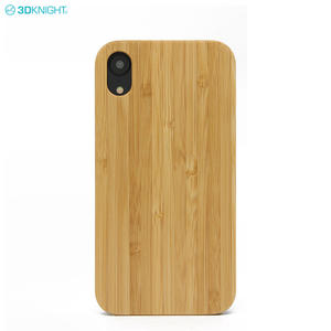 OEM Wooden Mobile Accessories FSC Certificated Wood Phone Case For IPhone XR