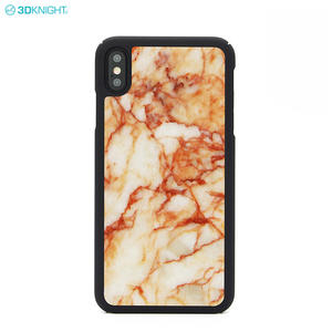 New Arrival Real Marble PC Hard Phone Case For iphone XS MAX