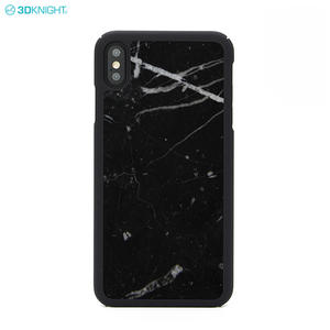 Custom Engraved Smart Mobile Cover Real Marble PC Phone Case For iPhone XS MAX