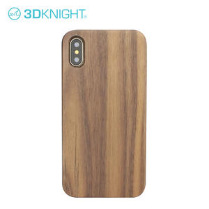 Wholesale Wood Phone Case Customized Laser Engraving Wood Iphone X Case
