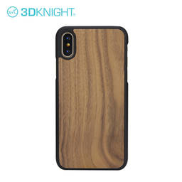 Customized Laser Engraving Iphone X Wooden Case