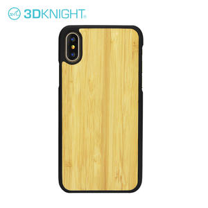 Customized Laser Engraving Iphone X Bamboo Case