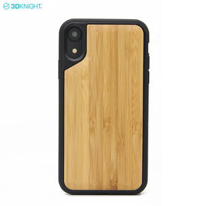 Luxury New Arrival 6.1 Inch 100% Bamboo Wood Cell Phone Case For IPhone XR