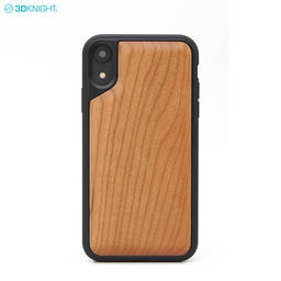 Custom Engraving 3D Blank Wood TPU Mobile Cell Phone Case For Iphone X XR XS MAX