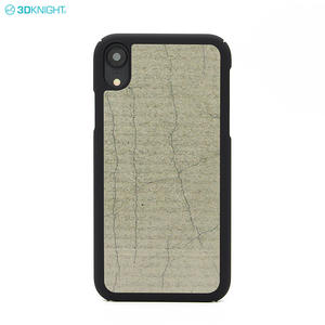 Luxury Natural Cement Pc Hard Cover Cell Phone Case For IPhone XR