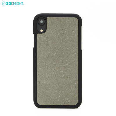 Eco friendly Natural Real Cement Pc hard Phone Case for iPhone XR