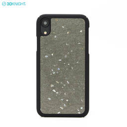 Custom Printing Design Cement Pc hard Cover Concrete Phone Case for iPhone XR