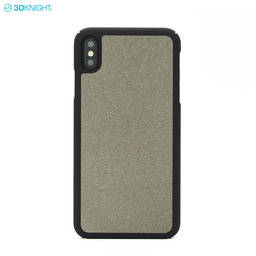 New Design 100% Real Cement Concrete Phone Case for iPhone Xs MAX