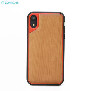 New Model Carved 3D Solid Blank Wood Cover Cell Phone Case For IPhone XR XS MAX