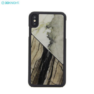 New Product 100% Natural Hard Marble Phone Case For IPhone XS MAX