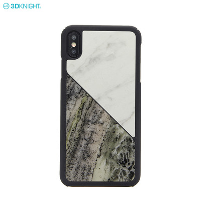 Luxury Gift Real Natural Marble Hard Back PC Phone Case Cover for iPhone XS Max