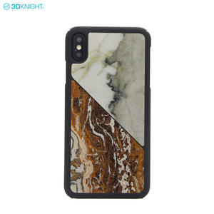 Handcraft Real Marble Drop-Proof Protective Cover Phone Case For IPhone XS MAX