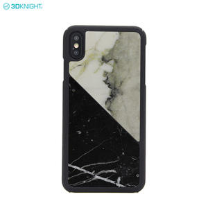 OEM Custom Latest Design Real Marble Phone Case For Iphone XS MAX