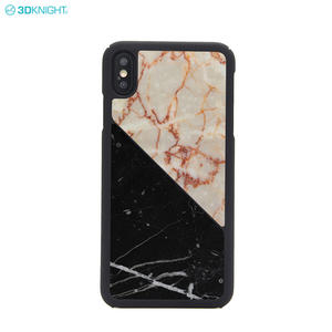Natural Stone Genuine Custom Real Marble Mobile Phone Case for iphone XS MAX