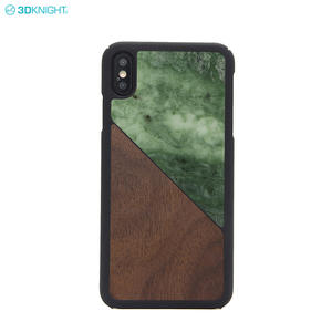 Unique Mobile Phone Accessories Marble Wood Phone Case For IPhone XS MAX