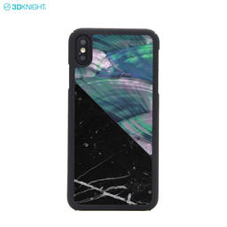 100% Genuine Marble Seashell Splicing Phone Case For Iphone XS MAX