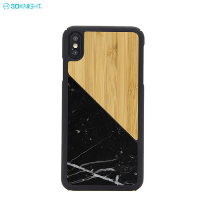 Hot Sale Natural Wood Marble Blank Cell Phone Case For Iphone XS MAX