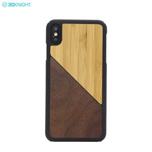 Global Hot Sale Unique Real Solid Wood PC Phone Case For Iphone XS MAX