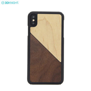 2019 Trending Products Genuine Wood PC Mobile Phone Hard Case For Iphone XS MAX
