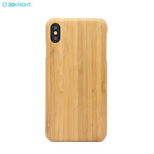 Ultra Thin Premium Aramid Fiber Soild Wood Design Phone Case For IPhone XS MAX