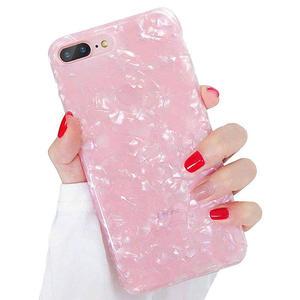 New Arrivals Fancy Pink Shell Design IMD TPU Phone Case For iPhone X XR XS MAX