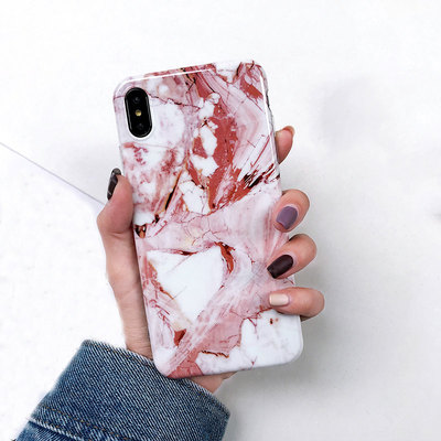 New Ultra Thin Marble IMD Craft Full Color Pattern TPU Phone Case For iphone X