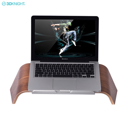 Factory Wholesale Wooden Portable Folding Notebook Laptop Stand Holder