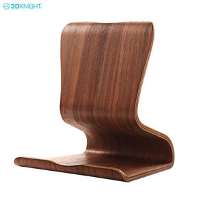 Latest Natural Wooden Counter Mobile Phone Holder Tablet PC Desktop Stand