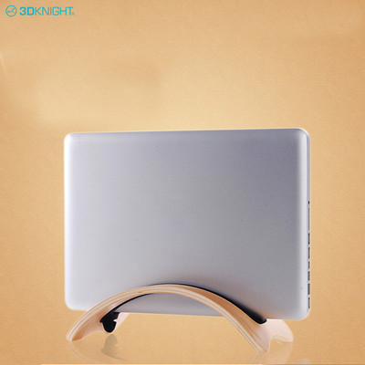 Hot Sale Portable Wooden Laptop Stand Notebook Holder For Tablet Pc
