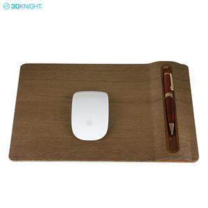 Cheap Custom Natural Wooden Non-slip Blank Gaming Mouse Pad