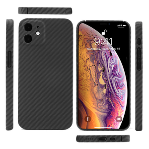 3D Knight Ultrathin Twill Kevlar Aramid Fibre Case With Precision Hole For Iphone 11 12 Pro Max