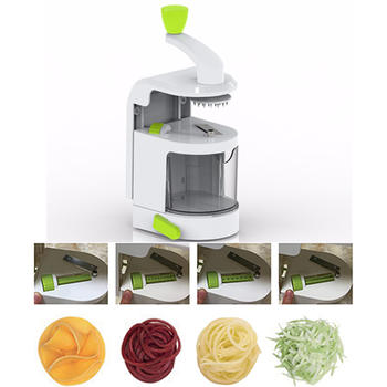 Spiral Slicer With Suction Base, Vegetable Spiralizer itemprop =
