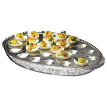 Iced Eggs Serving Tray, ovos congelados contém itemprop =