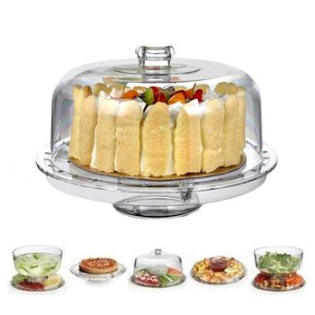 Multifunksionele Punch Bowl Wedding Cake Stand itemprop =