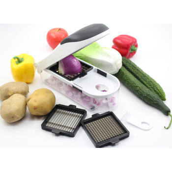 3 no 1 Chopper de legumes e Dicer itemprop =