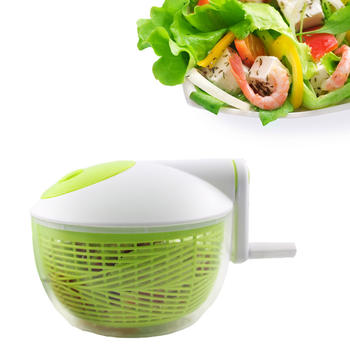 Ensalada de vegetales Spinner Ensalada Spin Dryer con bowl itemprop =