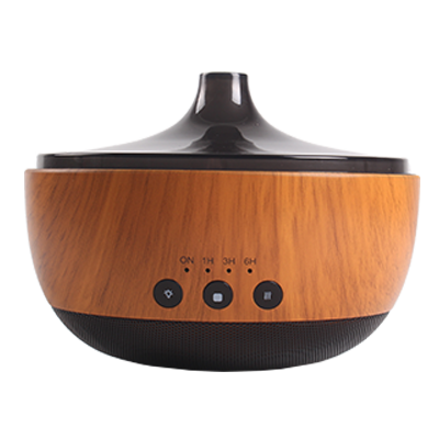 Bluetooth Houtgraan Aroma Essential Oil Diffuser Humidifier, Bluetooth Music Player
