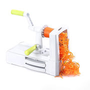 5-Blade Vegetable Spiral Slicer, vegetais spiralizer
