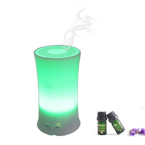 100ml Mini Aroma Diffuser, Cool Mist Ultrasonic Humidifier