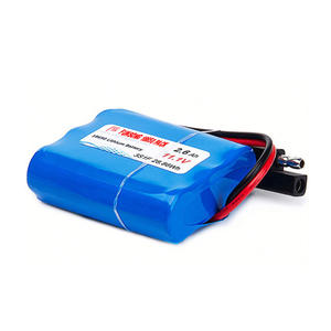 custom 18650 lithium battery pack for e-bike, solar light factory