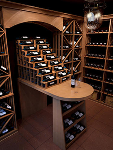 Basicrack series bottle wine cellar