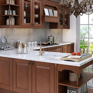 DS-500 North American Maple Series Solid Wood Kitchen Cabinet