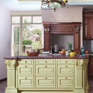 Custom wooden kitchen cupboards design