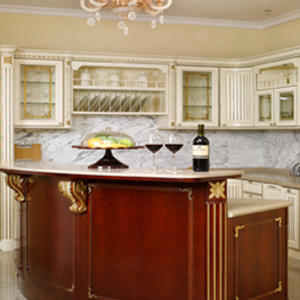 Custom solid wood cabinets design