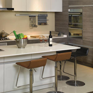 Custom white kitchen units design