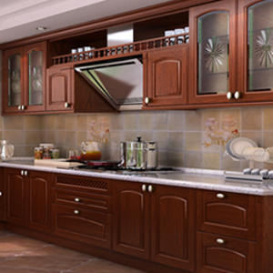 Custom wood kitchen cabinets design