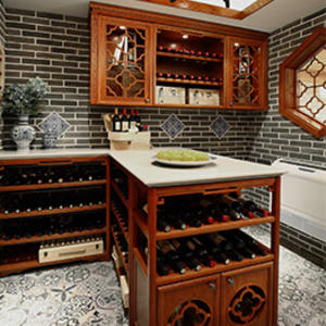 custom wooden wine cellar design,boutique wine cellar supplier